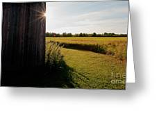 Barn Highlight Greeting Card