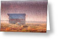 Barn In Early Light  Greeting Card