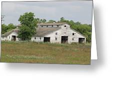 Barn In The Field 948 Greeting Card