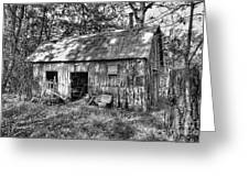 Barn In The Ozarks B Greeting Card