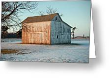 Barn Late Afternoon Greeting Card