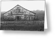 Barn Of X Greeting Card