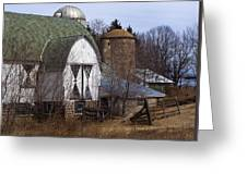 Barn On 29 Greeting Card