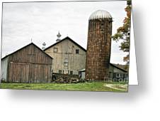 Barn On The Georgia Shore Road Greeting Card
