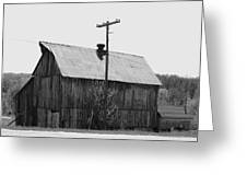 Barn On The Side Of The Road Greeting Card