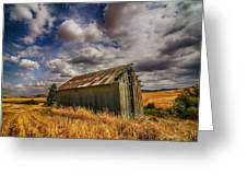 Barn Solitude Greeting Card