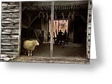 Barn Stock Greeting Card
