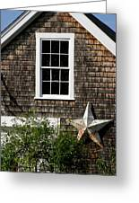 Barn With Star Greeting Card