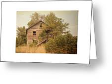 Barn Wood Homestead Greeting Card