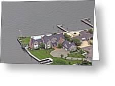 Barnegat Bay House Bay Head New Jersey Greeting Card