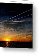 Barnegat Bay Sunset - Jersey Shore Greeting Card