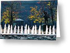Barney Allis Plaza-kansas City Greeting Card