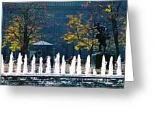 Barney Allis Plaza-kansas City Greeting Card