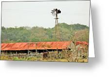 Barns 005 Greeting Card