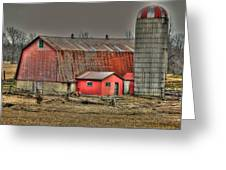 Barnsilo32 Greeting Card