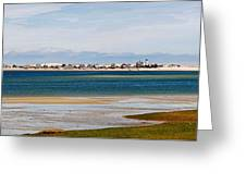 Barnstable Harbor Panorama Greeting Card