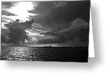 Barnstable Harbor Sky Greeting Card