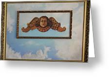 Baroque Angel Greeting Card