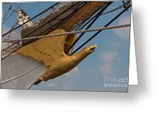 Barque Eagle Masthead Greeting Card