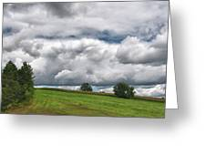 Barre Clouds 2181 Greeting Card