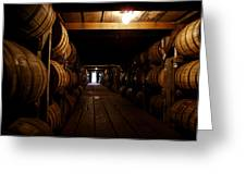 Barrel Alley Greeting Card