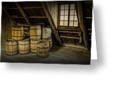 Barrel Casks Greeting Card