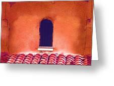Barrel Tile Greeting Card