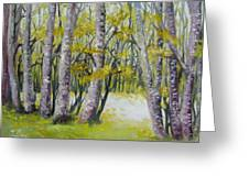 Barren Trees Greeting Card
