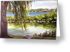 Barrie Waterfront Greeting Card