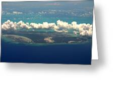 Barrier Island In Caribbean Greeting Card