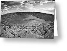 Barringer Meteor Crater #2 Greeting Card