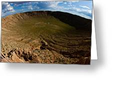 Barringer Meteor Crater #3 Greeting Card