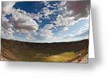 Barringer Meteor Crater #4 Greeting Card