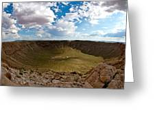 Barringer Meteor Crater #5 Greeting Card