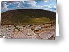 Barringer Meteor Crater #6 Greeting Card