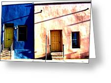 Barrio Viejo 1 Greeting Card