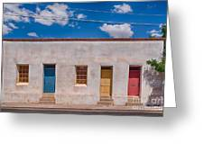 Barrio Viejo Palette Greeting Card