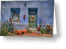 Barrio Viejo With Character Greeting Card