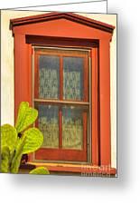 Barrio Window Greeting Card