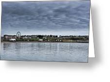 Barry Island Panorama Greeting Card