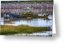 Barry Island Wrecks 3 Greeting Card