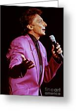 Barry Manilow-0784 Greeting Card