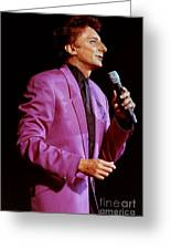 Barry Manilow-0785 Greeting Card