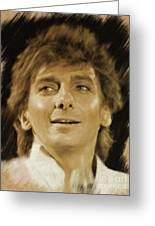 Barry Manilow, Music Legend Greeting Card