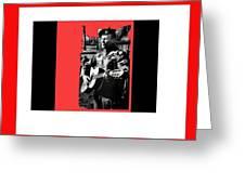 Barry Sadler Playing Guitar Circa 1966-2016 Greeting Card