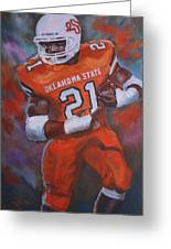 Barry Sanders, Oklahoma State Greeting Card