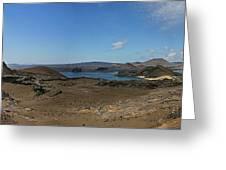 Bartolome Island Panorama Greeting Card
