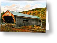 Bartonsville Covered Bridge Greeting Card