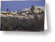 Base Camp - White Ledge Plateau - San Rafael Wilderness Greeting Card