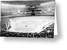 Baseball: Astrodome, 1965 Greeting Card